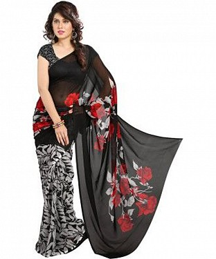 serial style saree@ Rs.555.00