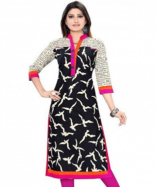 Multi Color Printed Kurtis @ Rs402.00