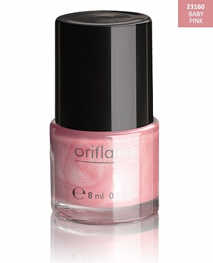 Oriflame Pure Colour Nail Polish - Baby Pink 8ml@ Rs.227.00