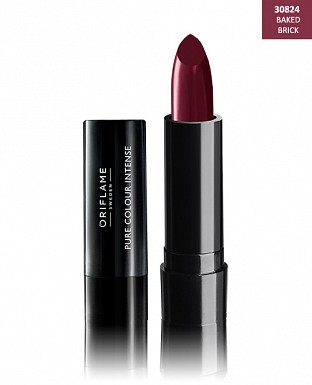 Oriflame Pure Colour Intense Lipstick Baked Brick 2.5gm @ Rs206.00
