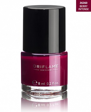 Oriflame Pure Colour Nail Polish - Berry Intense 8ml@ Rs.227.00