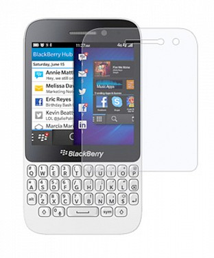 Blackberry Q5  Screen Protector/ Screen Guard @ Rs51.00