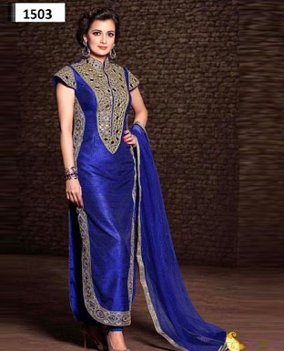 1503_latest blue colour salwar suit@ Rs.1175.00