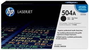 HP Color LaserJet CE250A Black Print Cartridge@ Rs.8405.00