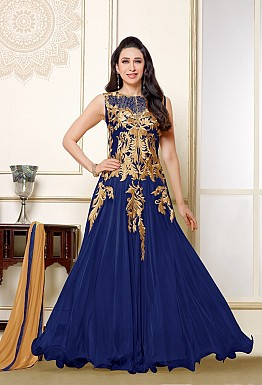 Karishma  Blue Anarkali Salwar Suit @ Rs1579.00