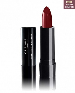 Oriflame Pure Colour Intense Lipstick - Cherry Compote 2.5g@ Rs.206.00