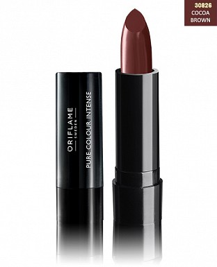 Oriflame Pure Colour Intense Lipstick Cocoa Brown 2.5gm @ Rs206.00
