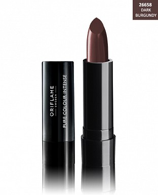 Oriflame Pure Colour Intense Lipstick - Dark Burgundy 2.5g @ Rs206.00
