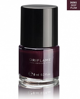 Oriflame Pure Colour Nail Polish - Deep Plum 8ml @ Rs227.00