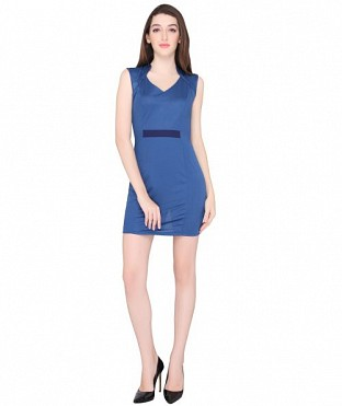 ELLIANA FORMAL OFFICE WEAR BODYCON DRESS @ Rs847.00
