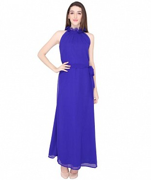 ELLIANA BLUE GOWN DRESS @ Rs1224.00