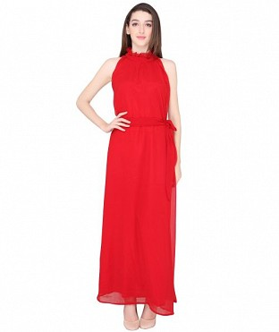 ELLIANA RED GOWN DRESS @ Rs1224.00