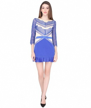 ELLIANA BABYDOLL SKATER DRESS @ Rs921.00