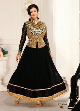 The New Latest Ayesha Takia Embroidered Anarkali Suit@ Rs.1175.00