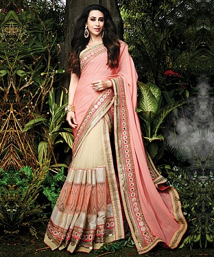 Karishma Kapoor In New Latest Designer Lehengha Choli Saree@ Rs.3089.00