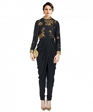 New Black Colours Latest Arrival Designer Kurti @ Rs1112.00