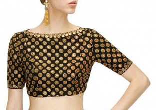 New Latest Black Colour Designer Blouse @ Rs617.00