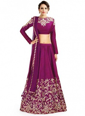 Latest Pink Beautiful Designer Lahenga Choli @ Rs988.00