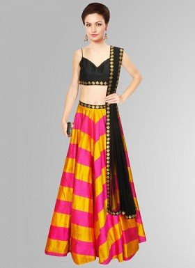 New Colourfull & Attractive For Special Navratri Collection Lahenga Choli@ Rs.1669.00
