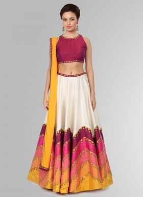 Latest Lahenga Choli In Five Different Shade For Women @ Rs1669.00