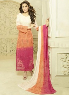 New Multi Color Designer Dress Material @ Rs1606.00