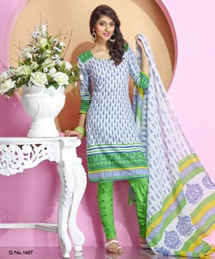 Desginer Cotton Suits with Dupatta@ Rs.300.00