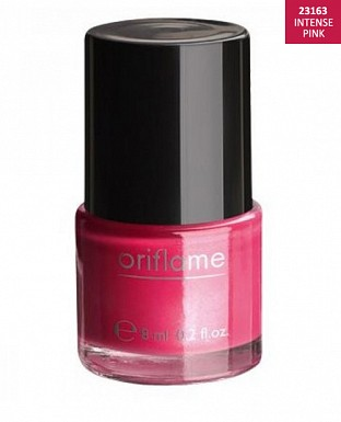 Oriflame Pure Colour Nail Polish - Intense Pink 8ml Buy Rs.227.00