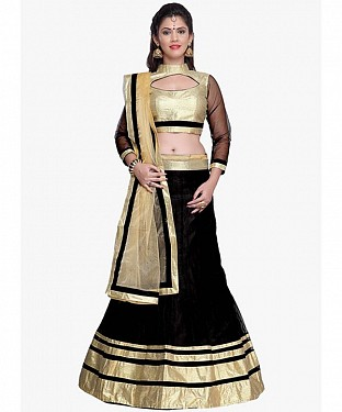 BEST COLLECTION DESIGNER LEHENGA WITH NET DUPATTA@ Rs.1348.00
