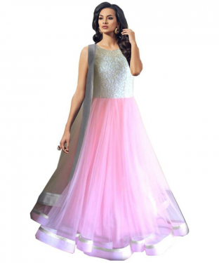 BEST COLLECTION  NET  DESIGNER LEHENGA@ Rs.1274.00