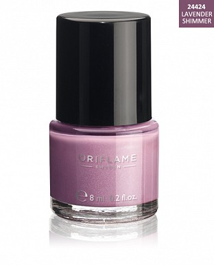 Oriflame Pure Colour Nail Polish - Lavender Shimmer 8ml@ Rs.227.00