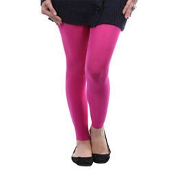 Cotton Pink Color Leggings @ Rs246.00