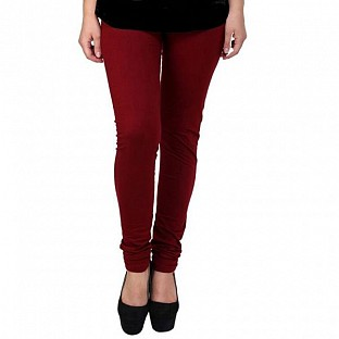 Cotton Brown Color Leggings @ Rs205.00