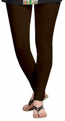 Cotton Dark Brown Color Leggings@ Rs.246.00