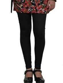 Cotton Black Color Leggings @ Rs246.00