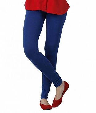Cotton Royal Blue Color Leggings @ Rs234.00
