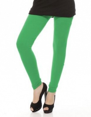 Cotton Green Color Leggings @ Rs246.00