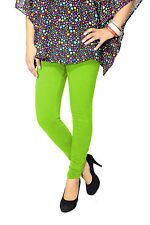 Cotton Parrot Green Color Leggings@ Rs.246.00