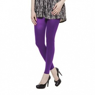 Cotton Purple Color Leggings @ Rs246.00