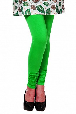 Cotton Light Green Color Leggings@ Rs.246.00
