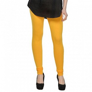 Cotton Yellow Color Leggings @ Rs246.00