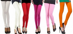 Cotton Leggings Combo Of 6@ Rs.1112.00