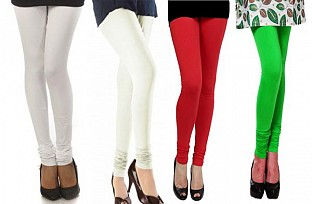 Cotton Leggings Combo Of 4@ Rs.790.00