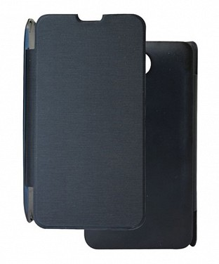 Black Flip Cover for Micromax a47 @ Rs102.00
