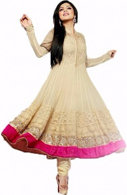 Off White Fashionable New Salwar Suit @ Rs1482.00