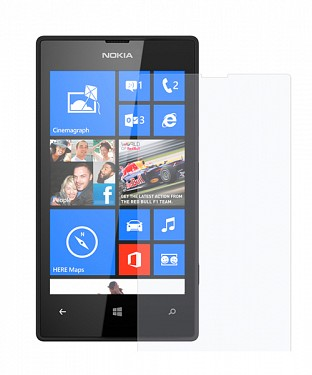 Nokia Lumia 520 Screen Protector Screen Guard @ Rs51.00