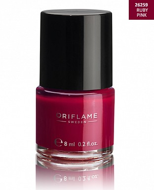 Oriflame Pure Colour Nail Polish - Ruby Pink 8ml@ Rs.227.00