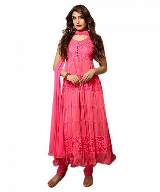 PINK BRASSO SUIT @ Rs392.00