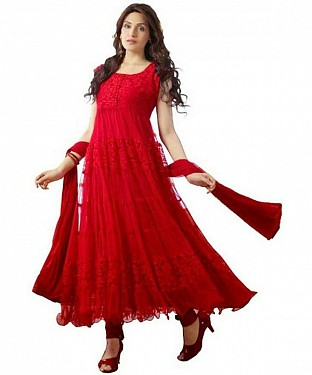 RED BRASSO SUIT @ Rs470.00