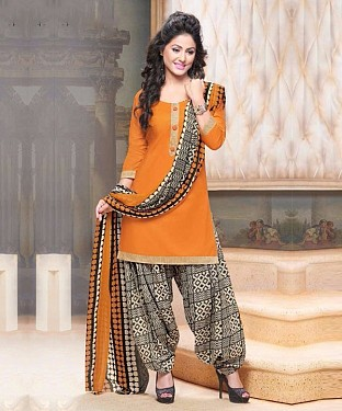 HEENA KHAN DESIGNER SUIT@ Rs.767.00