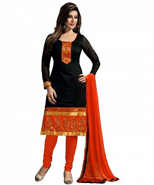DESIGNER BLACK  SUIT @ Rs458.00